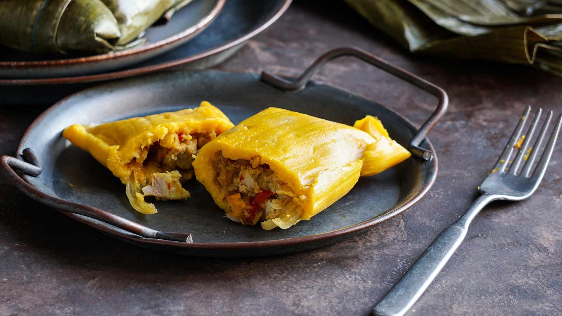 Tamales, para un rico desayuno